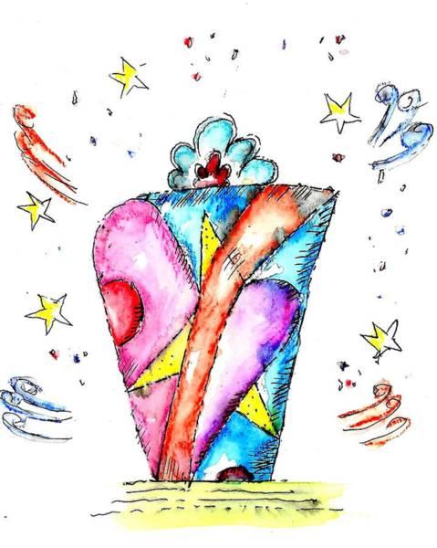 Drawing - The Magic Box by Jason Nicholas