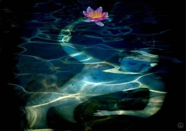 Wall Art - Digital Art - The Magical Pond by Gun Legler