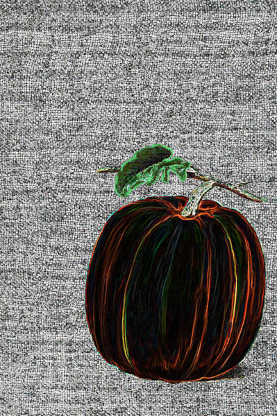 Wall Art - Painting - The Magical Pumkin by Portraits By NC