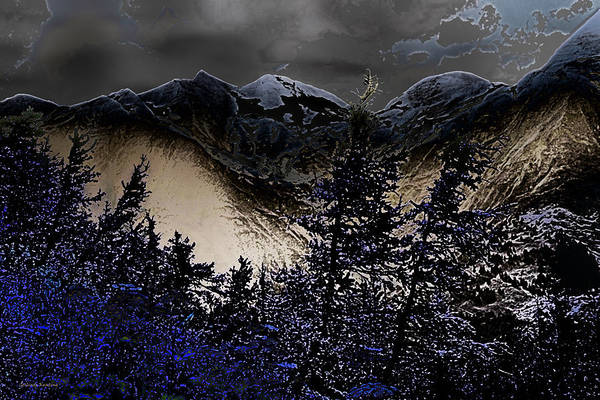 Photograph - The Magical Tiroler Mountains Austria by Gerlinde Keating - Galleria GK Keating Associates Inc