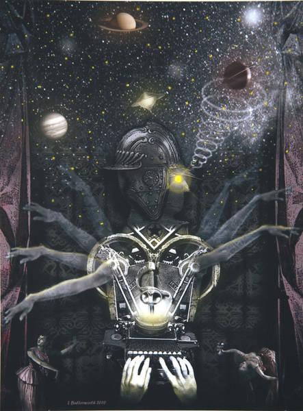 Tarot Deck Digital Art - The Magician by Larry Butterworth