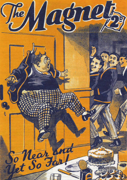 Nineteen-thirties Wall Art - Drawing - The Magnet 1930s Uk Billy Bunter by The Advertising Archives