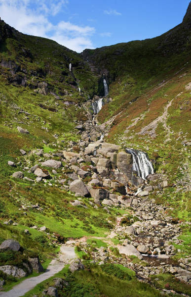 Moorland Photograph - The Mahon Falls, Comeragh Mountains by Panoramic Images
