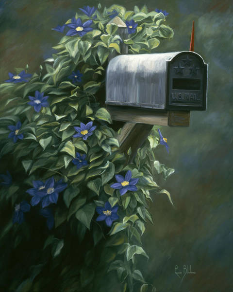 Painting - The Mail Box by Lucie Bilodeau