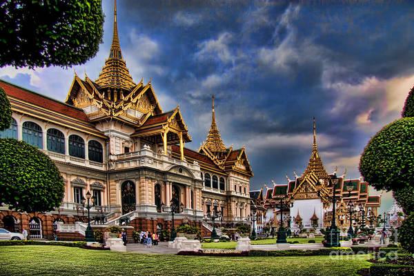 Wall Art - Photograph - The Majestic Grand Palace Bangkok  by David Smith