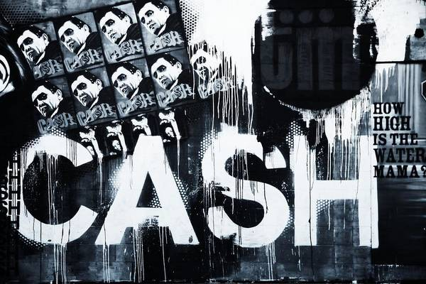 Cash Photograph - The Man In Black by Dan Sproul