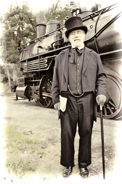 Photograph - The Man In The Tophat by Alice Gipson