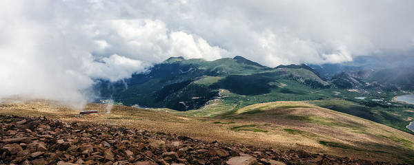 Photograph - The Manitou And Pikes Peak Railway Cog Descends by Greg Reed