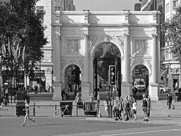 Photograph - The Marble Arch In London by Digital Photographic Arts