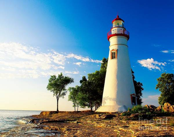 Photograph - The Marblehead Light by Nick Zelinsky