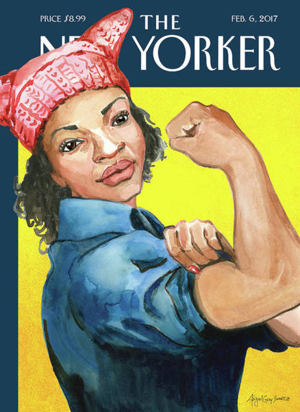 African American Woman Wall Art - Painting - The March by Abigail Gray Swartz