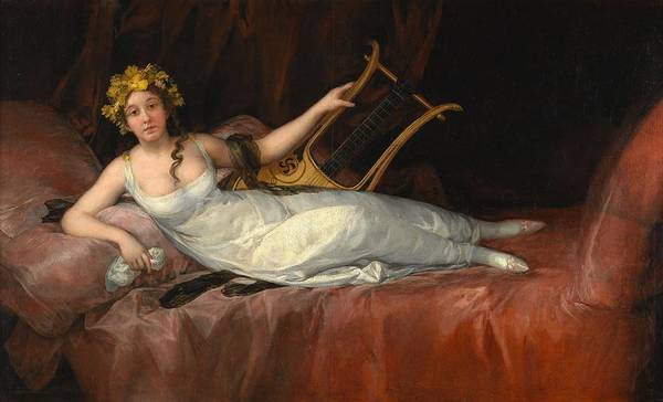 1805 Painting - The Marchioness Of Santa Cruz by Francisco Goya