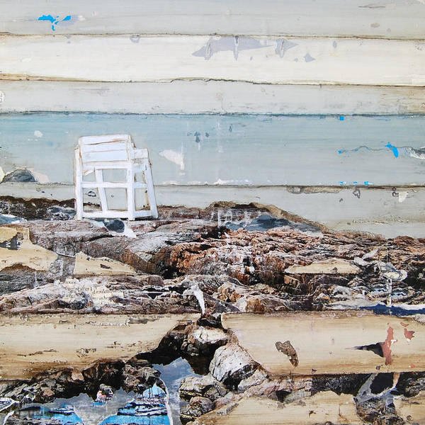 Chair Mixed Media - The Marginal Way Of Life by Danny Phillips