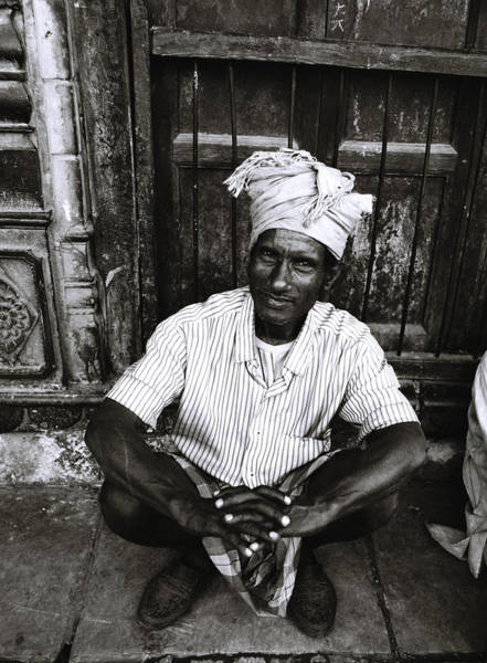 Coolie Photograph - The Market Trader by Shaun Higson