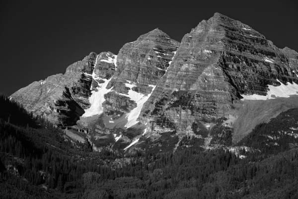 Photograph - The Maroon Bells - Aspen - Snowmass - Colorado by Photography  By Sai