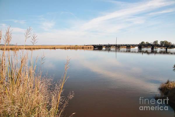Photograph - The Marsh Meets The Sky At Blackwater  National Wildlife Refuge Near Cambridge Maryland  by William Kuta