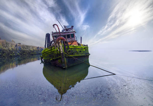 Tug Boat Photograph - The Mary Hume by Debra and Dave Vanderlaan