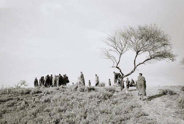 Photograph - The Masai Village by Shaun Higson