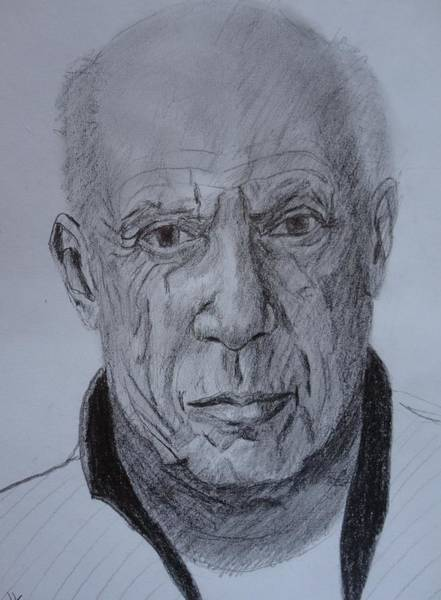 Drawing - The Master by Dagmar Helbig