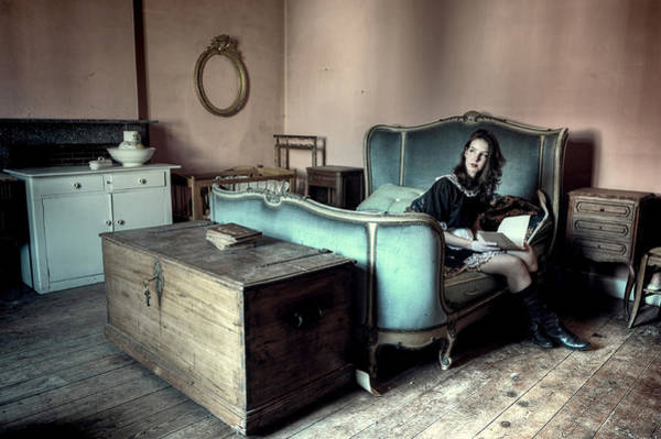 Bed Photograph - The Masters Bedroom by Monika Vanhercke
