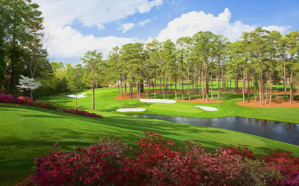 Augusta Masters Painting - The Masters by Bryan Burnham