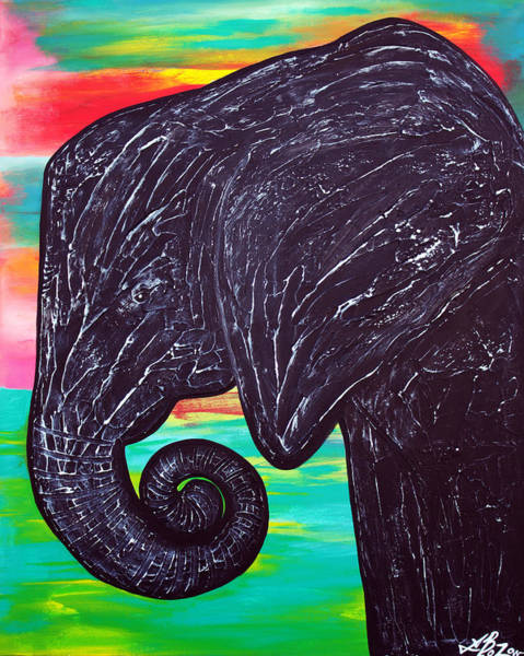 Wall Art - Painting - The Matriarch by Laura Barbosa