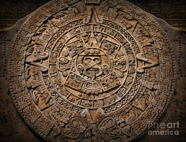 Wall Art - Photograph - The Mayan Calendar by Lee Dos Santos