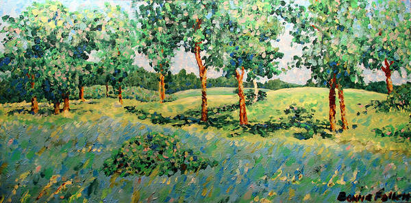 Painting - The Meadow by Bonnie Follett