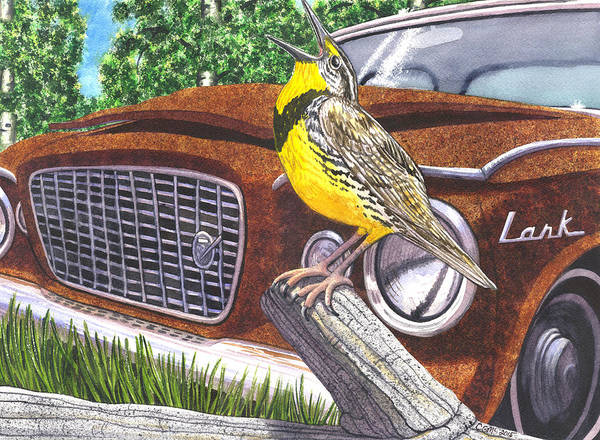 Painting - The Meadowlarks by Catherine G McElroy