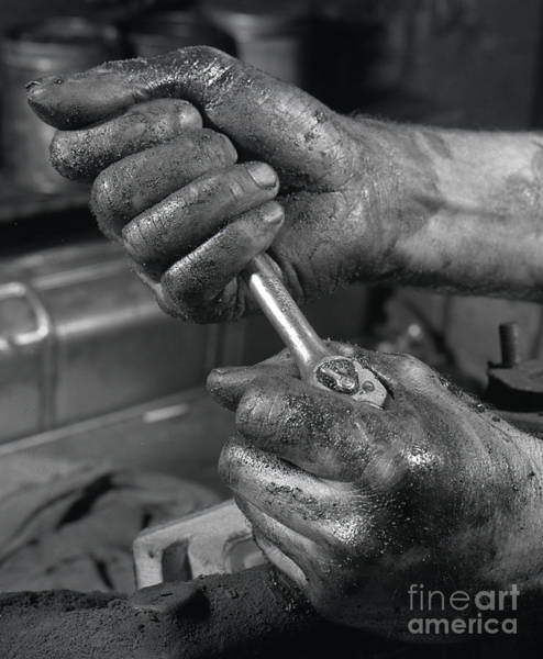 Wall Art - Photograph - The Mechanic by The Harrington Collection