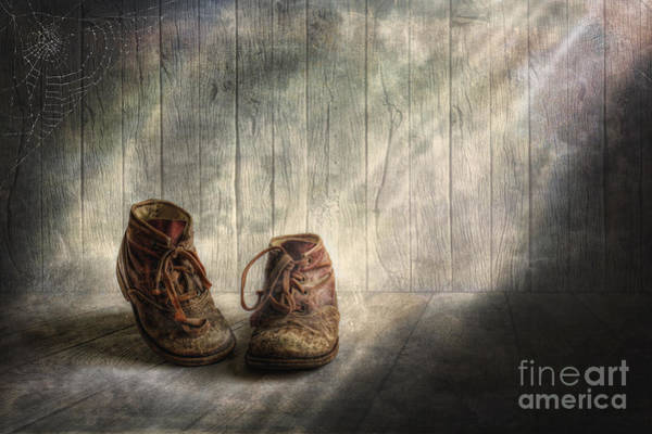 Wooden Shoe Photograph - The Memories Begin To Live .. by Veikko Suikkanen
