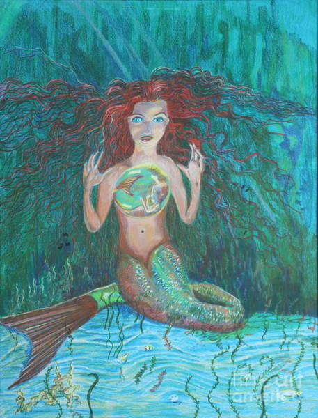 Painting - The Mermaid by Stefan Duncan