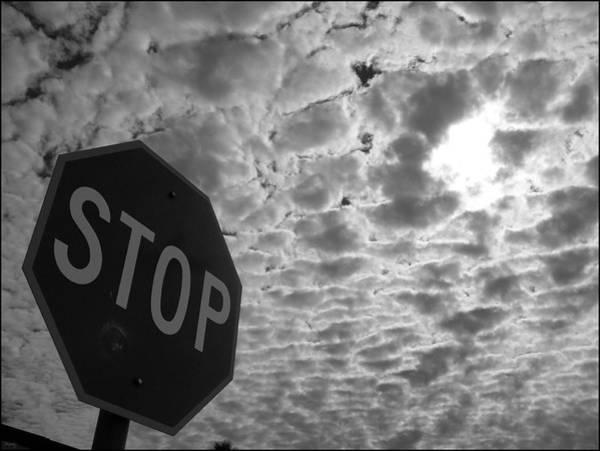 Stop Photograph - The Message by Glenn McCarthy Art and Photography
