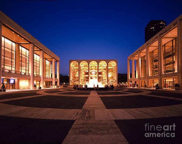 Fisher Center Photograph - The Metropolitan Opera House by Rafael Macia