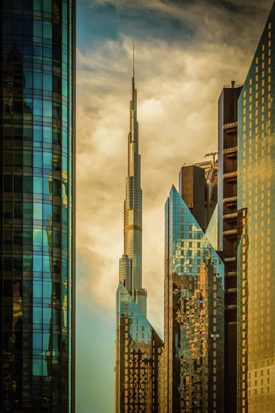 Wall Art - Photograph - The Mighty burj by Nicolas Tohme