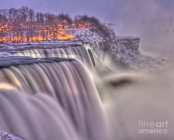 Photograph - The Mighty Niagara by Jim Lepard