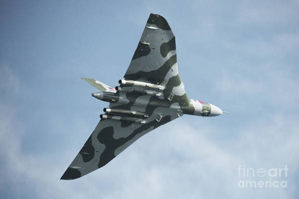 Vulcan Bomber Photograph - The Mighty Vulcan  by Rob Hawkins