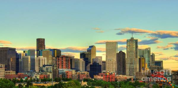 Photograph - The Mile High City by Anthony Wilkening