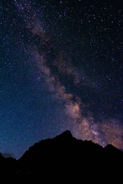 Big Pine Wall Art - Photograph - The Milky Way Over The Palisades, John by Russ Bishop