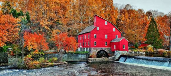 The Mill In Clinton Art Print