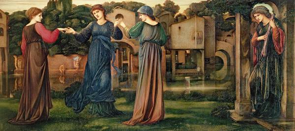 Wall Art - Painting - The Mill by Sir Edward Burne-Jones