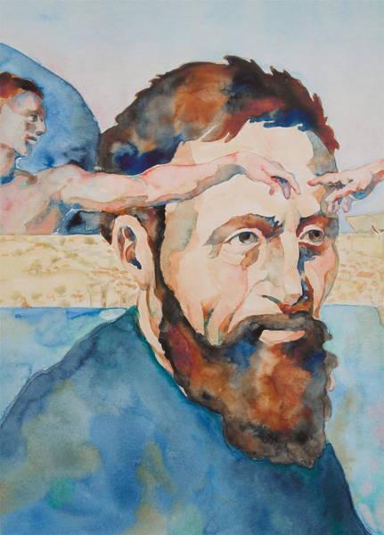 The Mind Of Michelangelo Art Print
