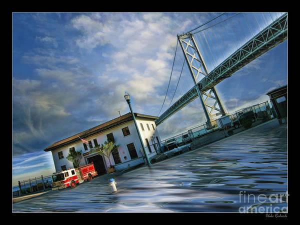 Photograph - The Mini San Francisco Fire House by Blake Richards