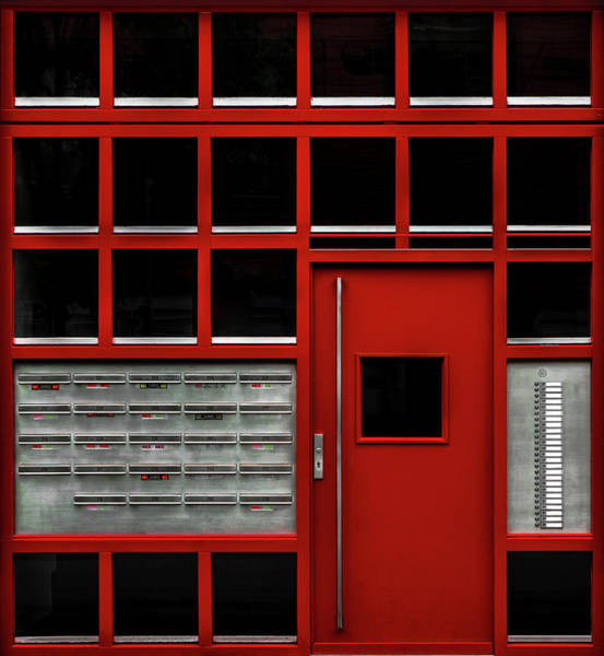 Grid Photograph - The Missing Box by Gilbert Claes