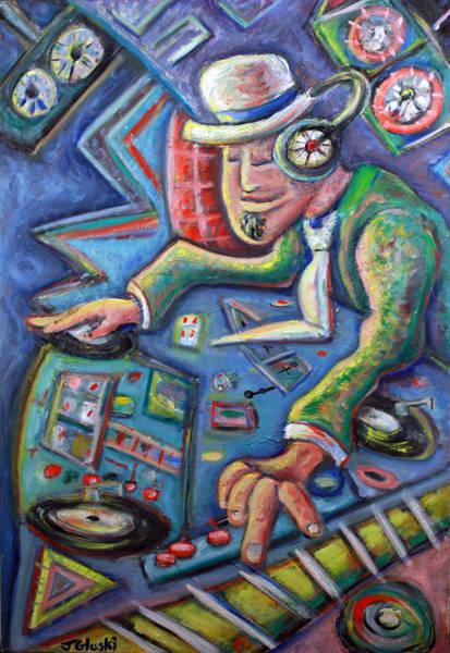 Benny Painting - The Mixmaster by Jason Gluskin