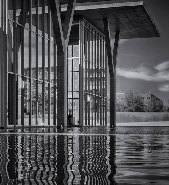 Photograph - The Modern Bw by Joan Carroll