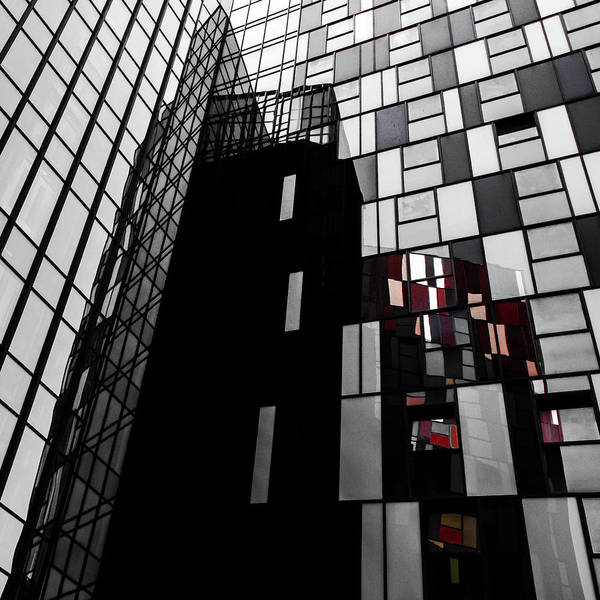 Wall Art - Photograph - The Mondriaan Touch by Gilbert Claes