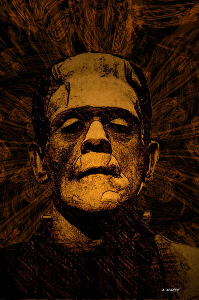 Famous Monsters Digital Art - The Monster   by Brian Dearth