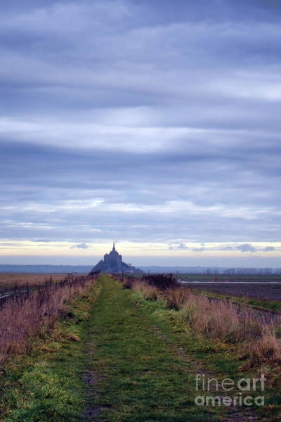 Photograph - The Mont Saint Michel In Normandy France by Olivier Le Queinec
