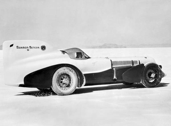 Wall Art - Photograph - The Mormon Meteor Race Car by Underwood Archives